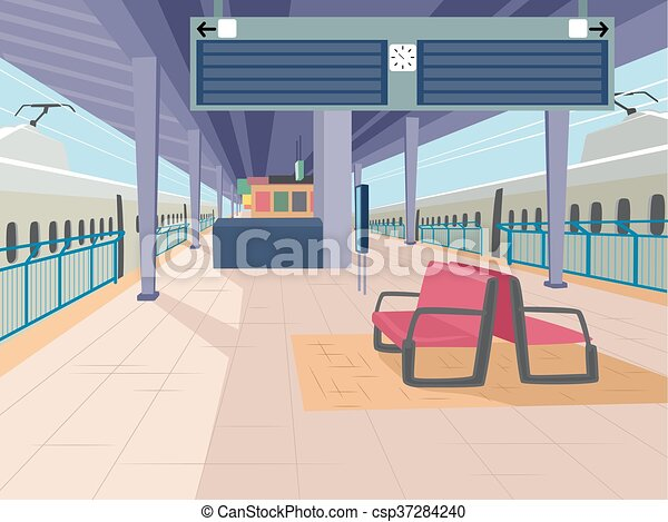 stazione treno - csp37284240