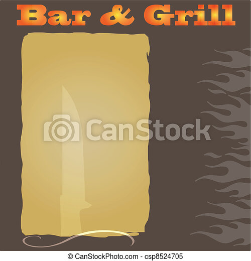 steakhouse menu background a western themed steakhouse menu or
