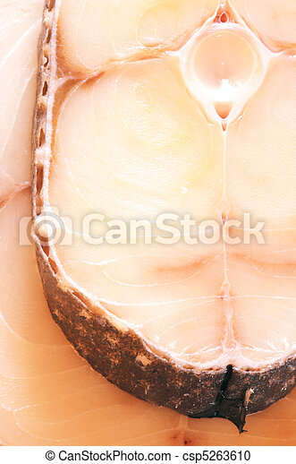 Steaks of toothfish - csp5263610