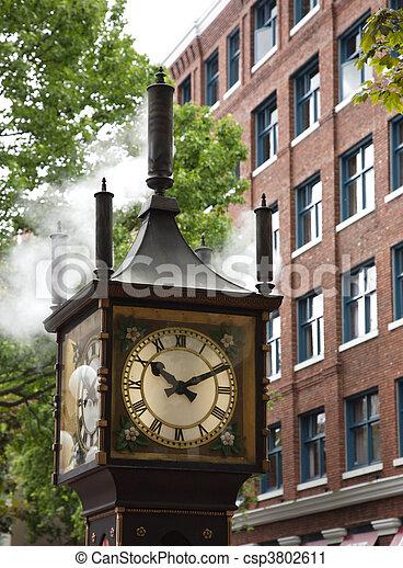 steam clock - csp3802611
