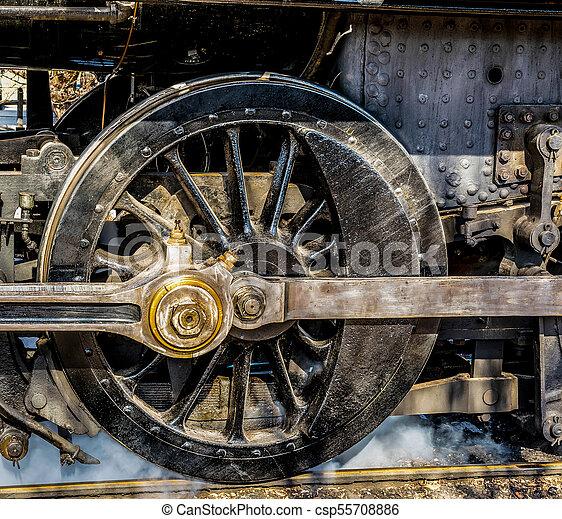 Steam Engine Drive Wheel - csp55708886
