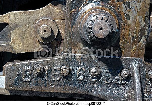 Steam Locomotive Parts - csp0872217