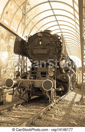 Steam locomotive - csp14146177