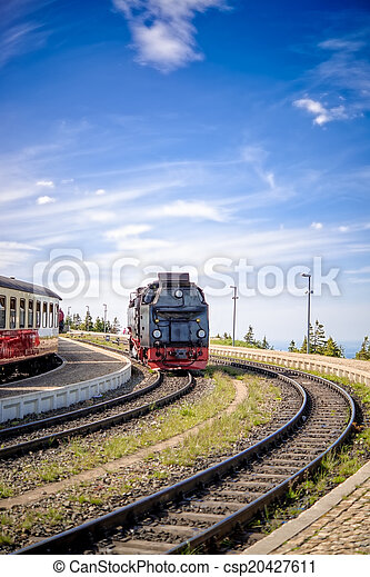 Steam locomotive - csp20427611