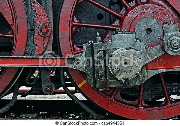 Steam locomotive - csp4944351