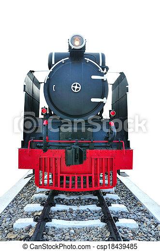 Steam locomotive - csp18439485