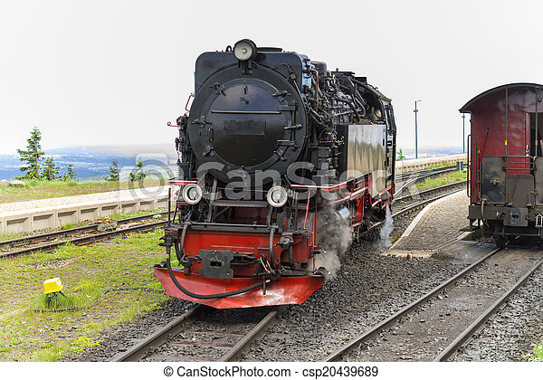 Steam locomotive - csp20439689