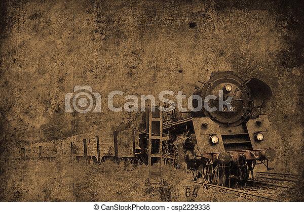steam locomotive - csp2229338