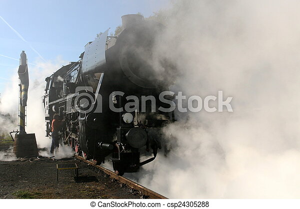 Steam locomotive - csp24305288