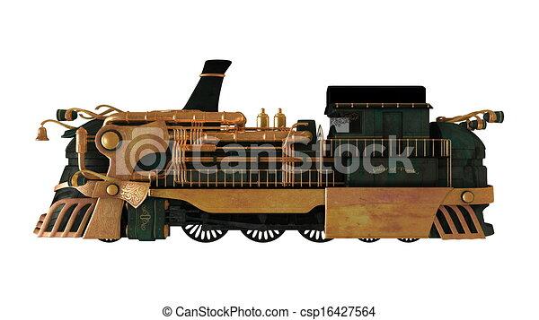 steam locomotive  - csp16427564