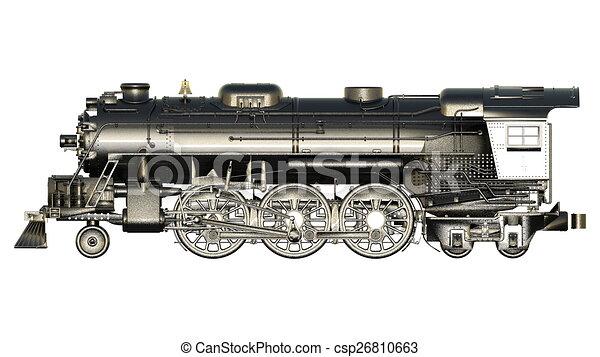 steam locomotive - csp26810663