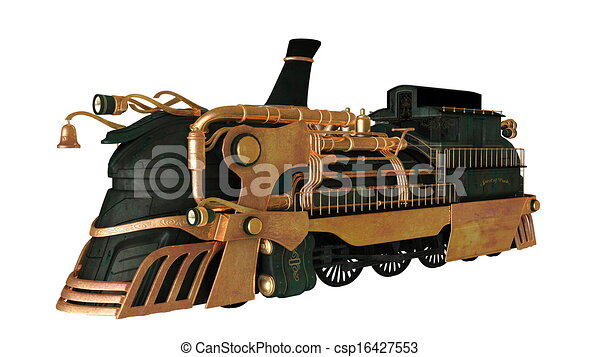 steam locomotive  - csp16427553