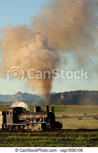 Steam locomotive - csp1656106