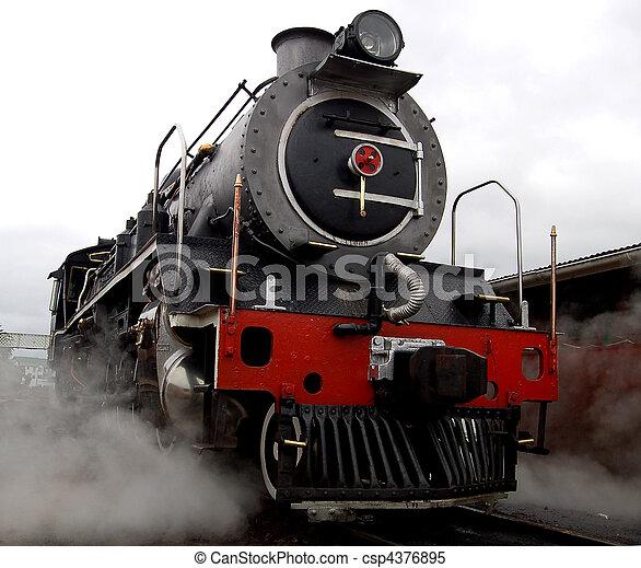 Steam Locomotive - csp4376895