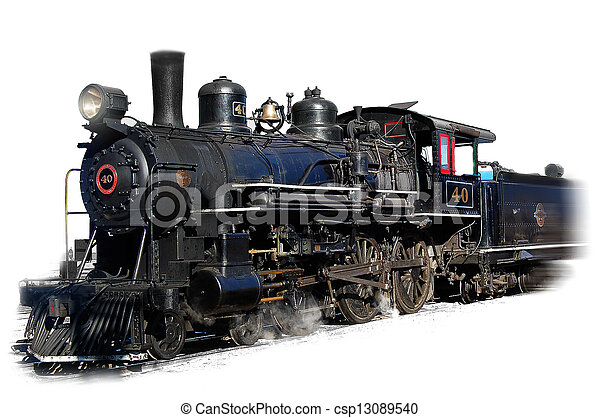 Steam locomotive - csp13089540