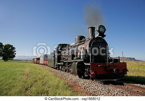 Steam locomotive - csp1868012