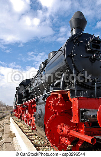 Steam Locomotive - csp3296544