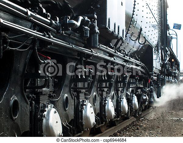 Steam Locomotive - csp6944684