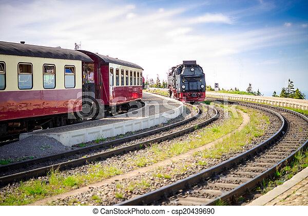 Steam locomotive - csp20439690