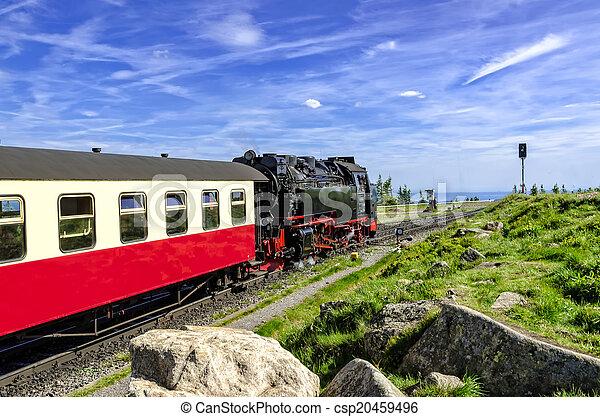 Steam locomotive - csp20459496