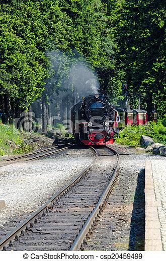 Steam locomotive - csp20459499