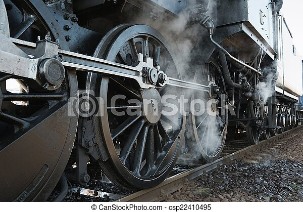 Steam Locomotive - csp22410495