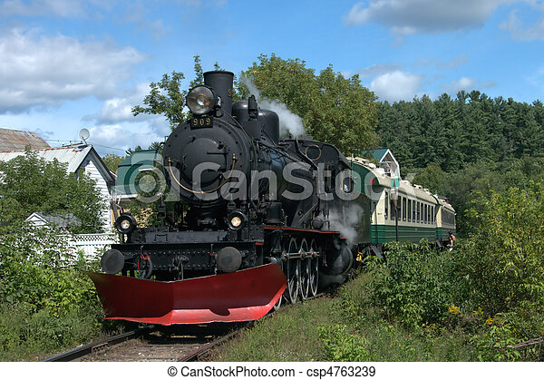 Steam Locomotive - csp4763239