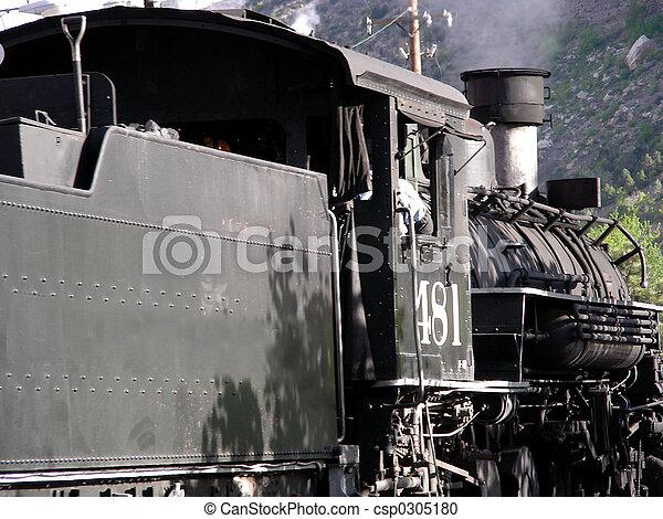 Steam Locomotive - csp0305180