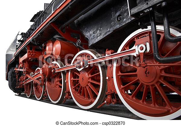 steam locomotive - csp0322870