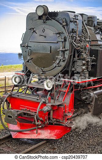 Steam locomotive - csp20439707