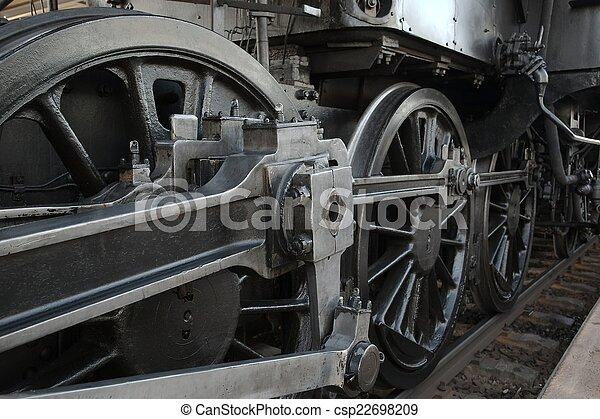 Steam Locomotive - csp22698209
