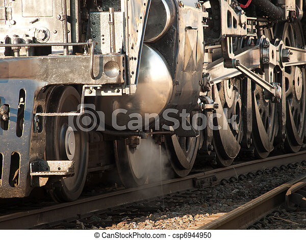 Steam Locomotive - csp6944950