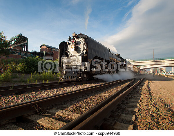 Steam Locomotive - csp6944960