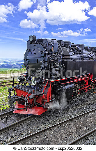 Steam locomotive - csp20528032