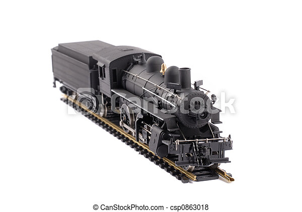 Steam Locomotive Train - csp0863018