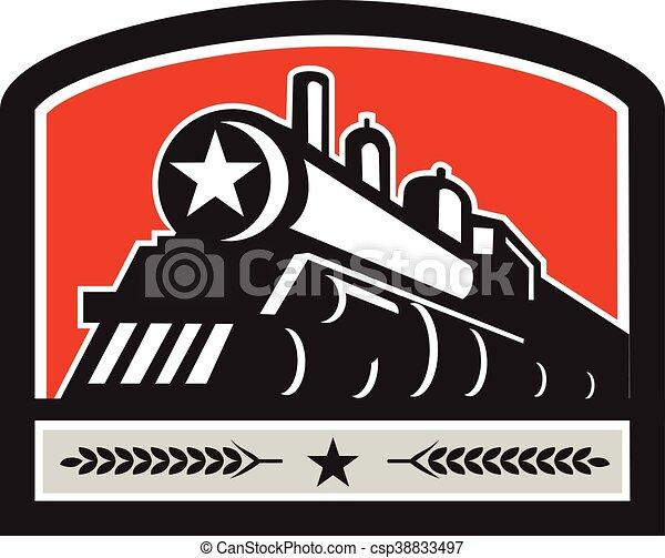 steam-locomotive-train-star - csp38833497