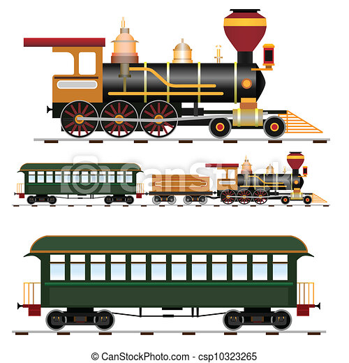 Steam train - csp10323265