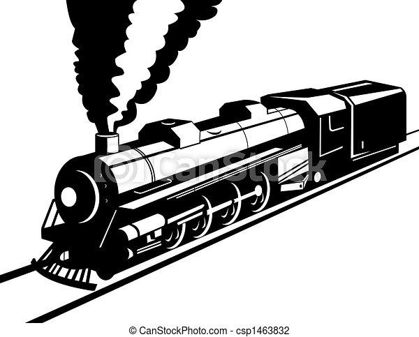 Steam train - csp1463832
