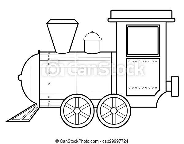 steam train - csp29997724