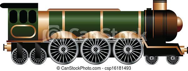 STEAM TRAIN - csp16181493