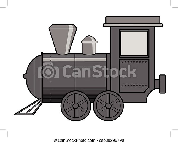 steam train - csp30296790