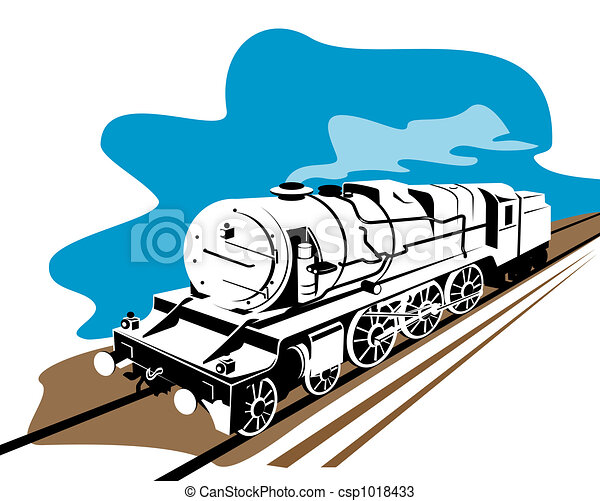 Steam train - csp1018433