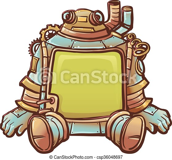 steampunk robot frame steampunk illustration of a robot eps rh canstockphoto ie steampunk clip art images steampunk clip art free