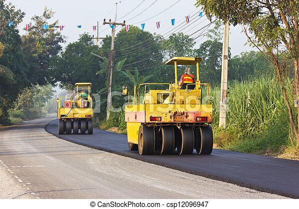 Steamroller - csp12096947