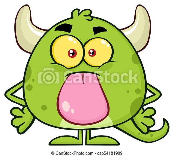 Zeichentrick Monster
