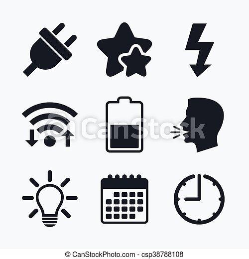 Wunderbar Elektrisches Symbol Für Licht Zeitgenössisch - Elektrische ...