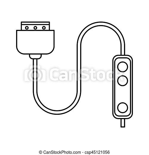 Groß Kabeldraht Und Clip Art Ideen - Elektrische ...