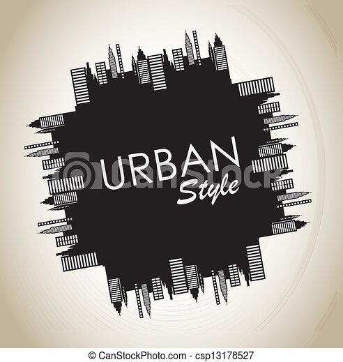 stedelijke , stijl - csp13178527