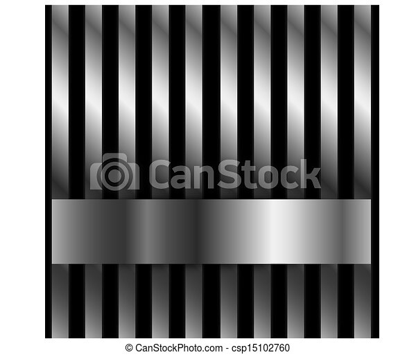 Steel bar background - csp15102760
