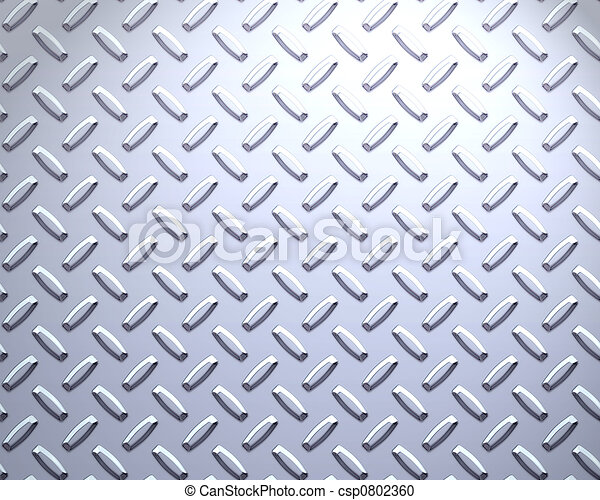 steel diamond plate  - csp0802360